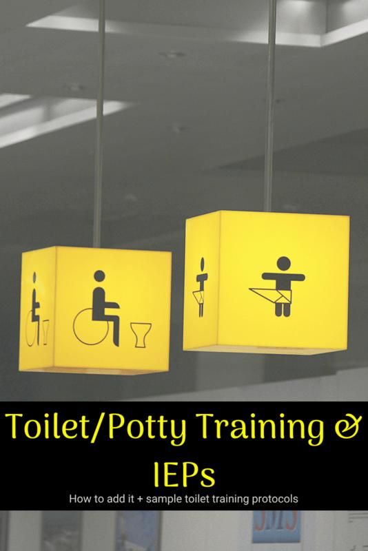 toileting IEP