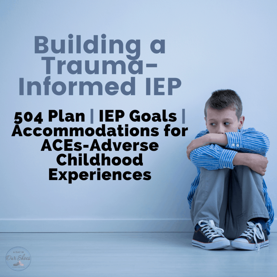 child in need of a trauma informed IEP because he has experienced adverse childhood experiences