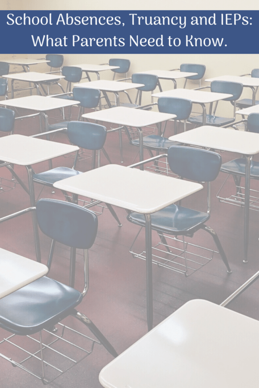truancy absences IEP appointments