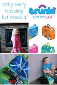 trunki kids ride on luggage happy kids with luggage