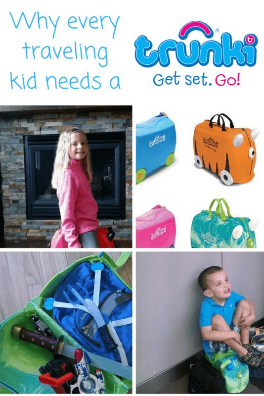 trunki kids ride on luggage