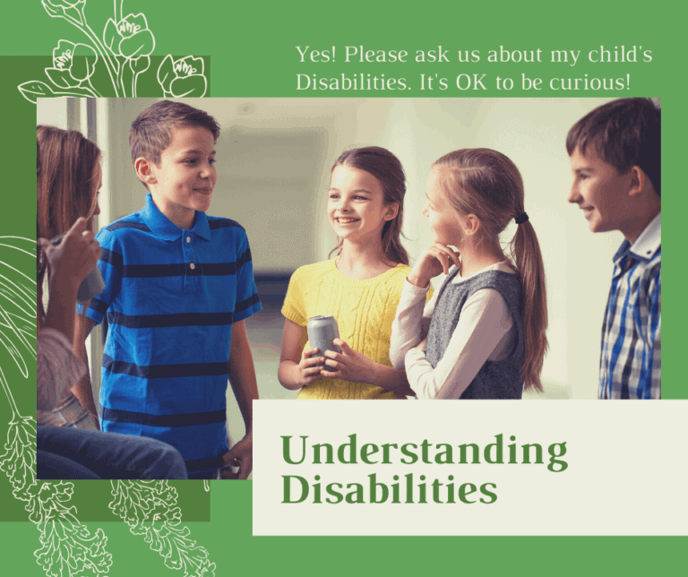 It's OK to ask us about my son's disabilities. No, really, it is.