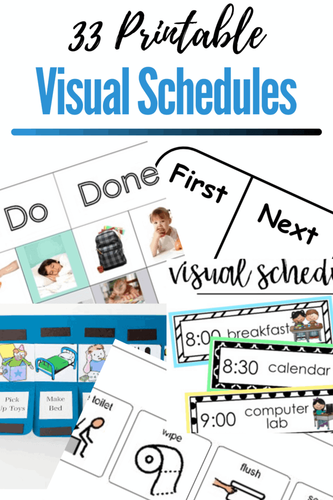 visual schedules for autism