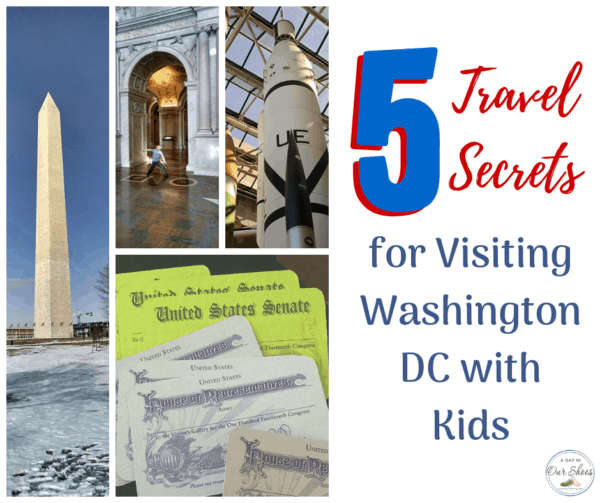 washington dc travel with kids monument with happy boy