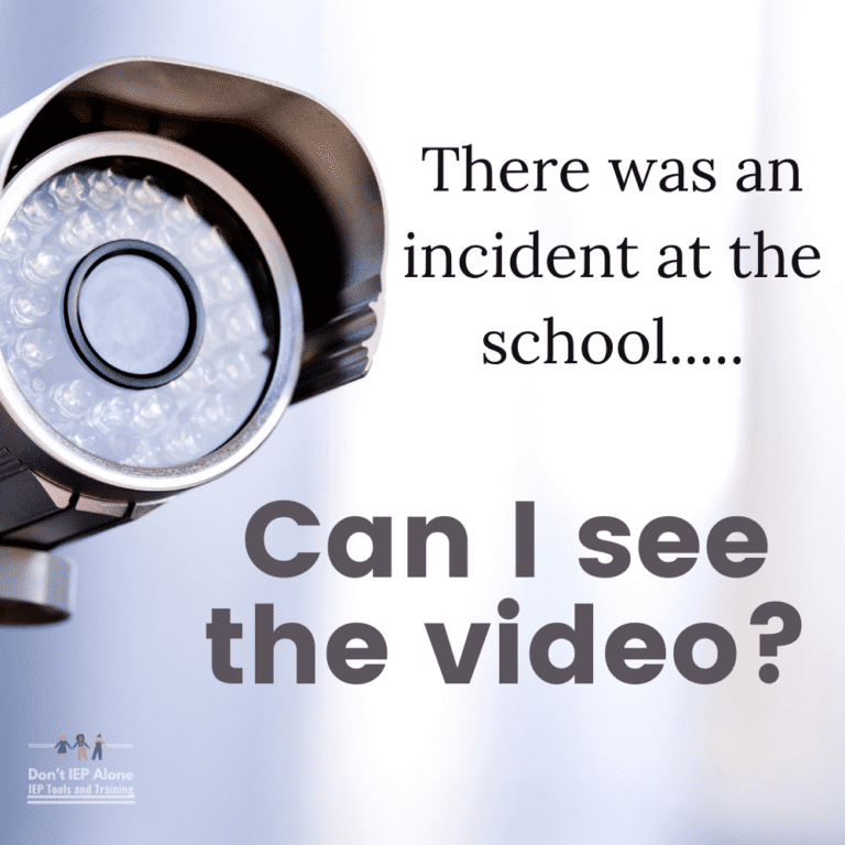 Can I See the School's Video of an Incident with my Child? | Your Rights Explained.