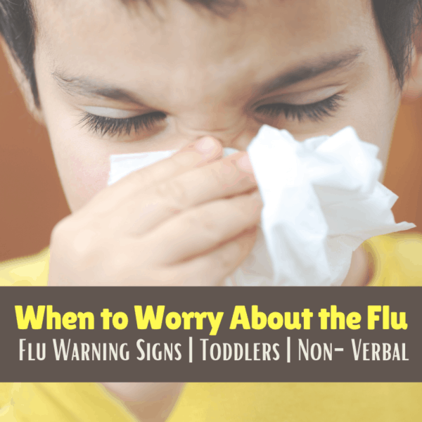 when to worry about the flu