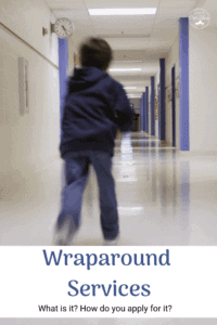 what are wraparound services and how to apply child running down school hall