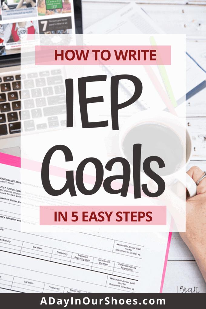 write IEP goals