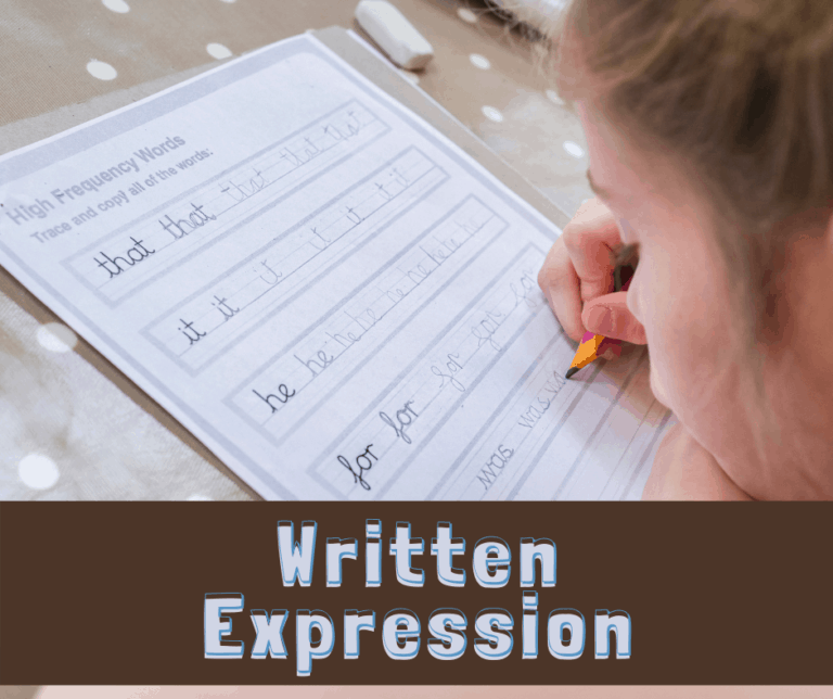 What is Written Expression?