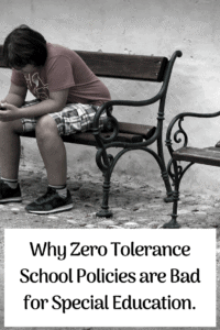 zero tolerance policy education policy